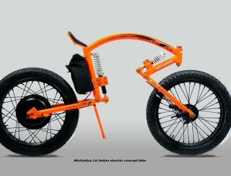 Man from Mysore Creates India's First Electric Concept Bike Without an Engineering Degree