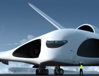 Russia Shows Off Plans For the Biggest Supersonic Cargo Plane In The World