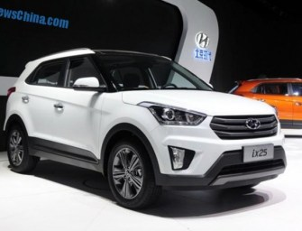 Hyundai ix25 Compact SUV Spied Testing in India; Expected to Arrive Soon