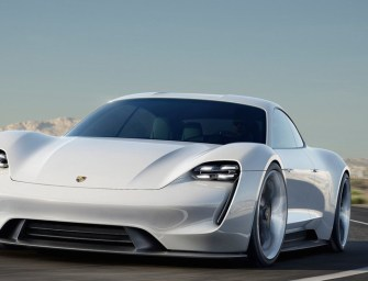 Porsche's Electric Mission E Set to Take on Tesla's Model S
