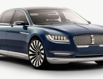 Lincoln Continental Makes a Glorious Comeback