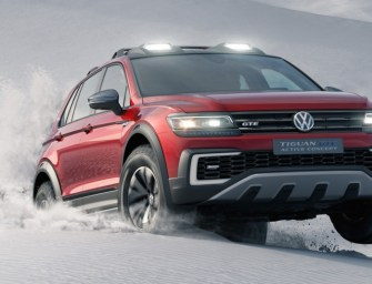 Volkswagen to Unveil the Tiguan GTE Active Concept at Detroit Auto Show