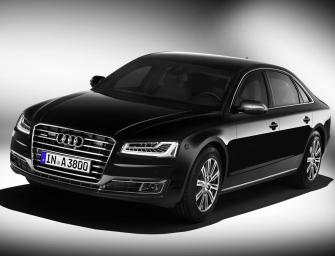 Audi Launches A8 L Security Sedan in India