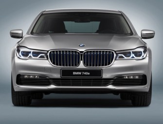 BMW Unveils 740e iPerformance