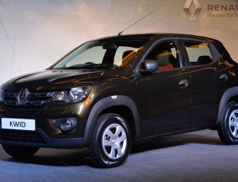 Auto Expo 2016 : Renault Kwid with 1000cc Engine Announced