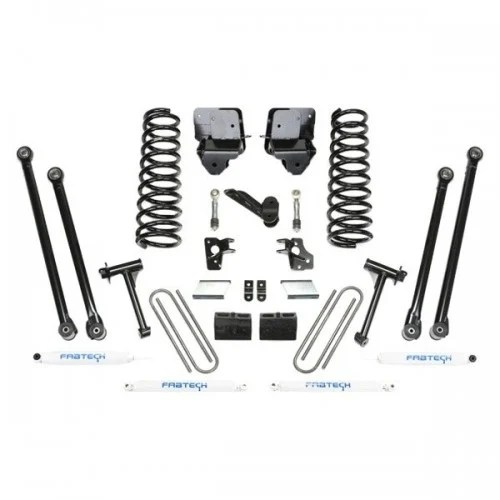 Fabtech Front and Rear Long-Travel Lift Kit