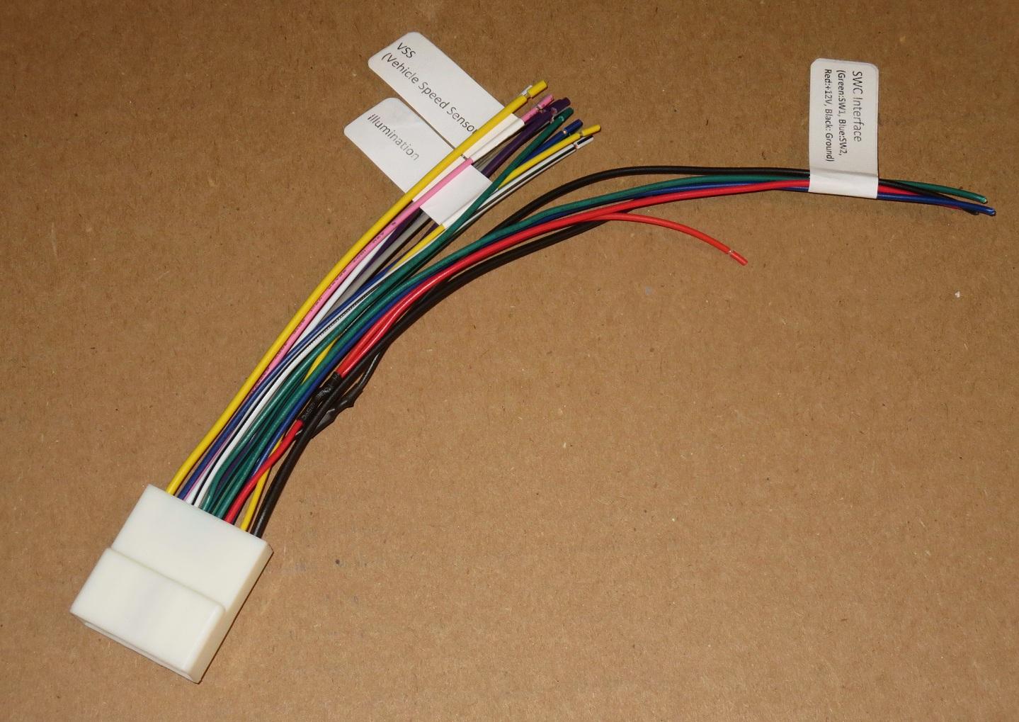Connect The Power Supply Ground Wire And The 3525 Blue Wire To The