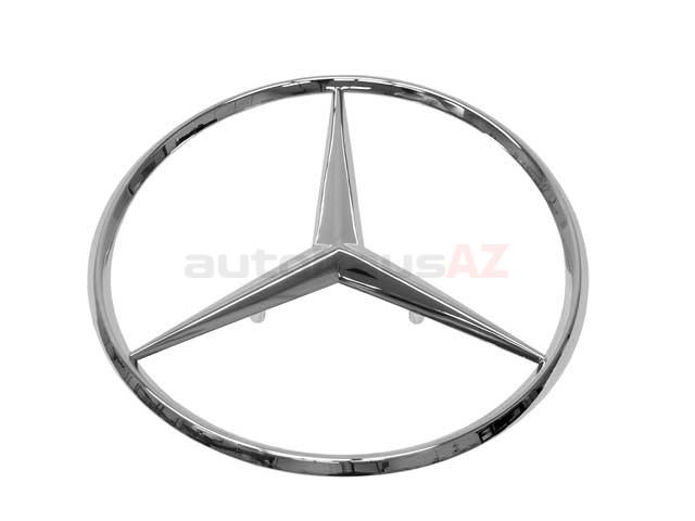 Genuine Mercedes 1267580158, A1267580158 Emblem; Trunk