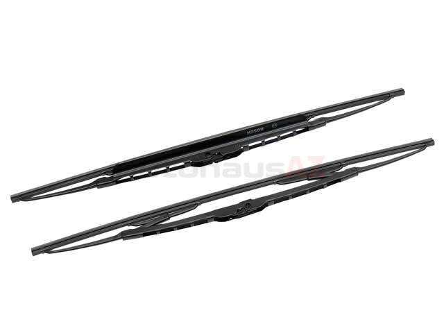 Bosch 3397118421 Windshield Wiper Blade Set; Front; Left