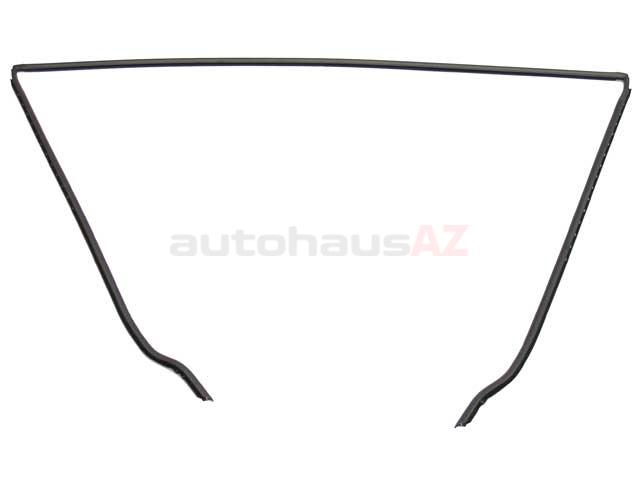 Genuine BMW 51318159784 Windshield Molding; Front