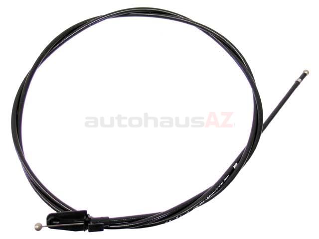 Genuine Audi VW-8E1823531D Hood Release Cable SKU: 1430790