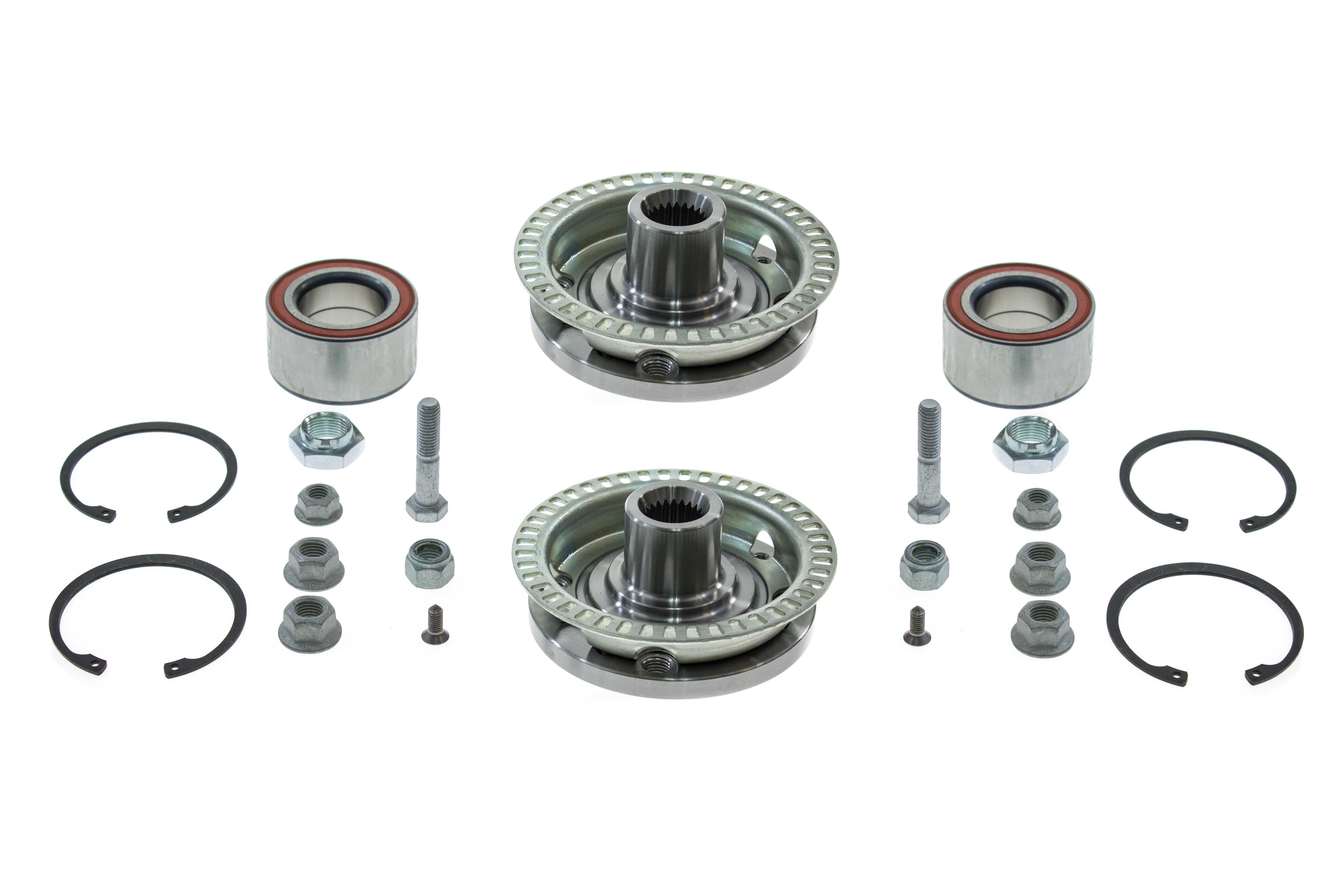 AAZ Preferred VWFTHUB2KIT Wheel Bearing Kit; Front Hubs