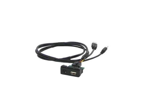 Connects2 USB integrasjons sett Mazda 2/3/5/6/CX5/CX7