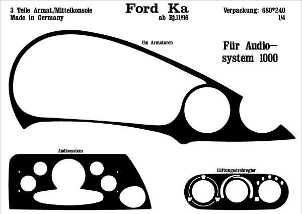 Ford ka audiosystem 1000