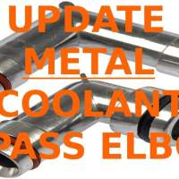 Swap automobile HEATER hose FITTINGS, discover & fix coolant leaks in bypass elbows - GM 3800 motor three.8 L