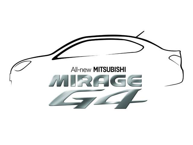 The new Mitsubishi Mirage G4 will be available for sneak