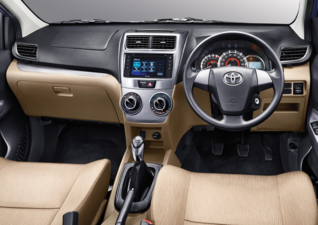 foto grand new avanza harga 2017 surabaya toyota makes global debut in indonesia auto the dashboard of