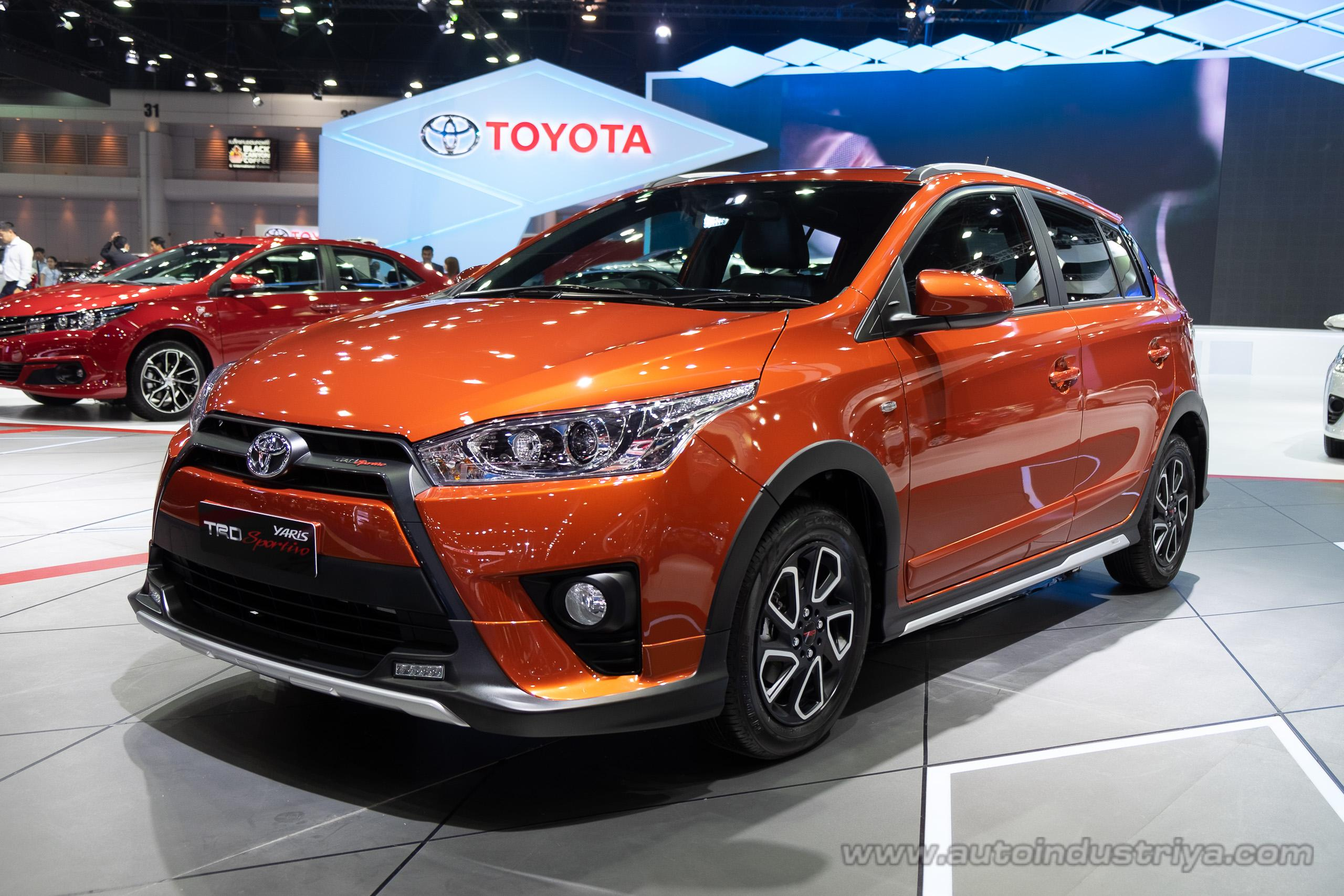 new yaris trd grand avanza e 1.3 manual bangkok 2016 preview toyota sportivo revealed auto news