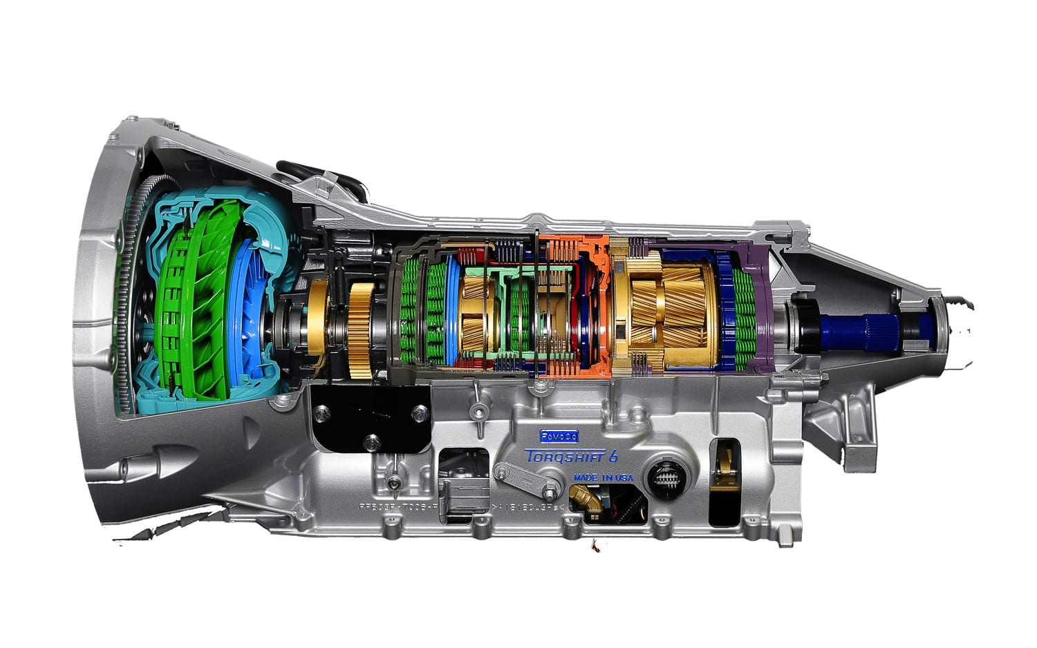 hight resolution of gm and ford made torqshift transmition that will be used by both brands