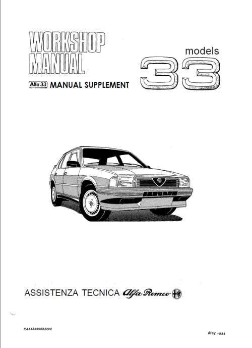 Инструкция по эксплуатации и руководство по ремонту Alfa Romeo