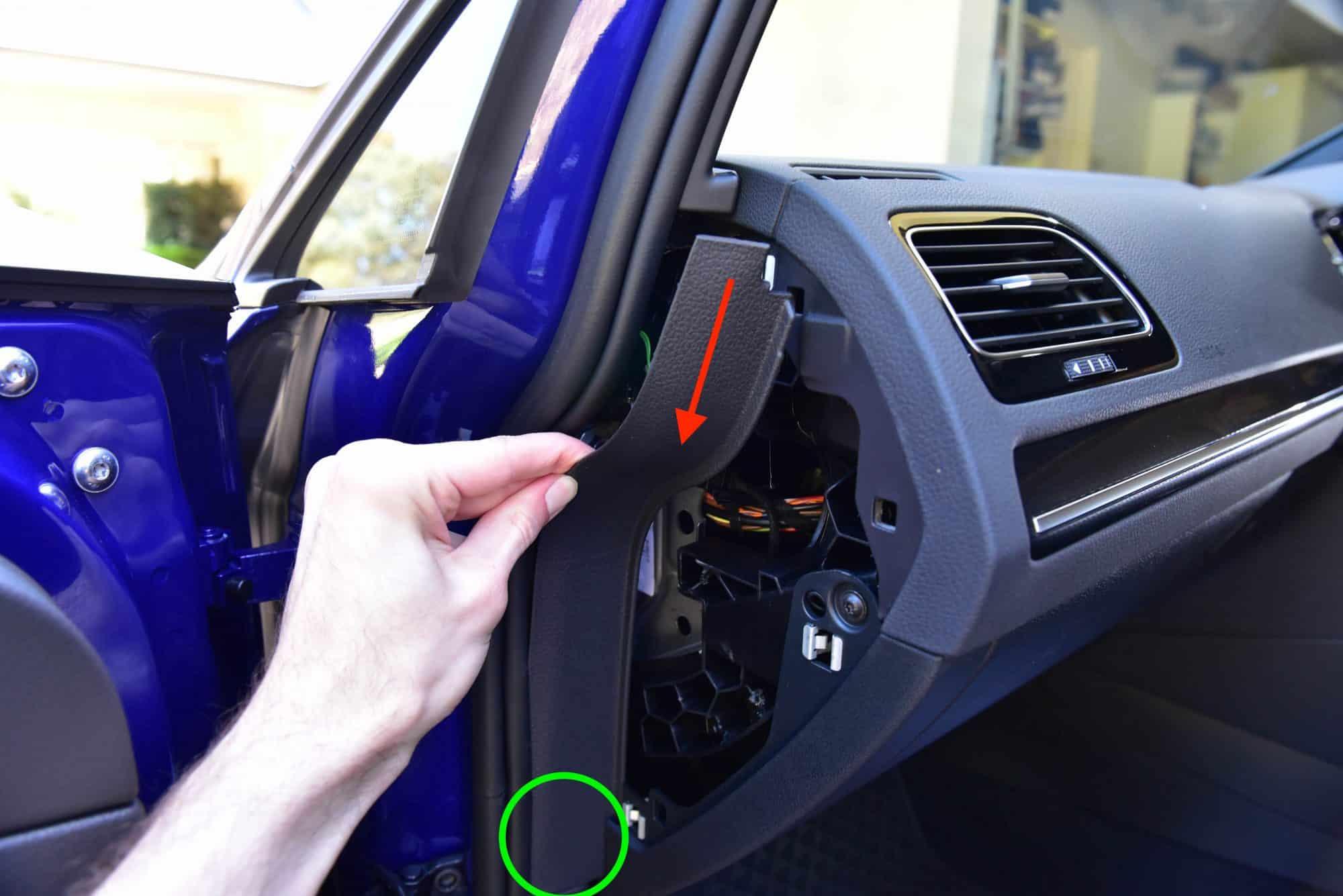 hight resolution of dash cam install tutorial volkswagen mk7 golf autoinstruct 2008 passat fuse box 2008 vw passat fuse