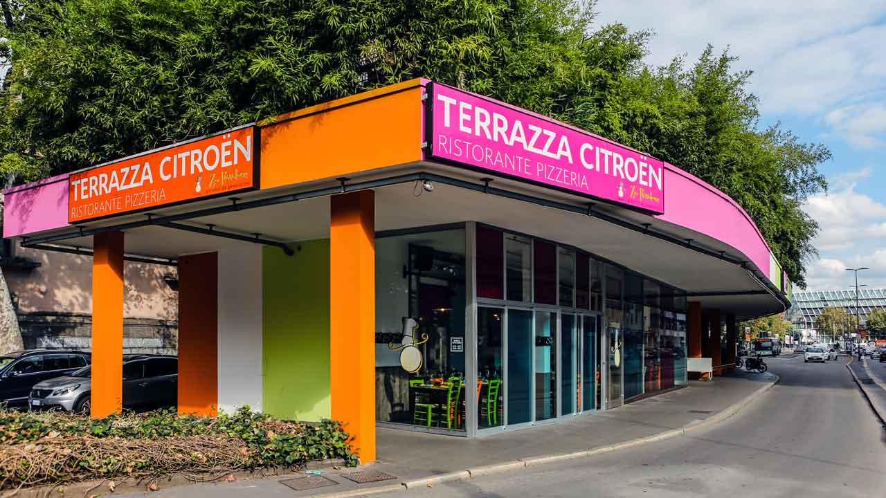 Terrazza Citroen apre a Milano  AUTOINTHECITY