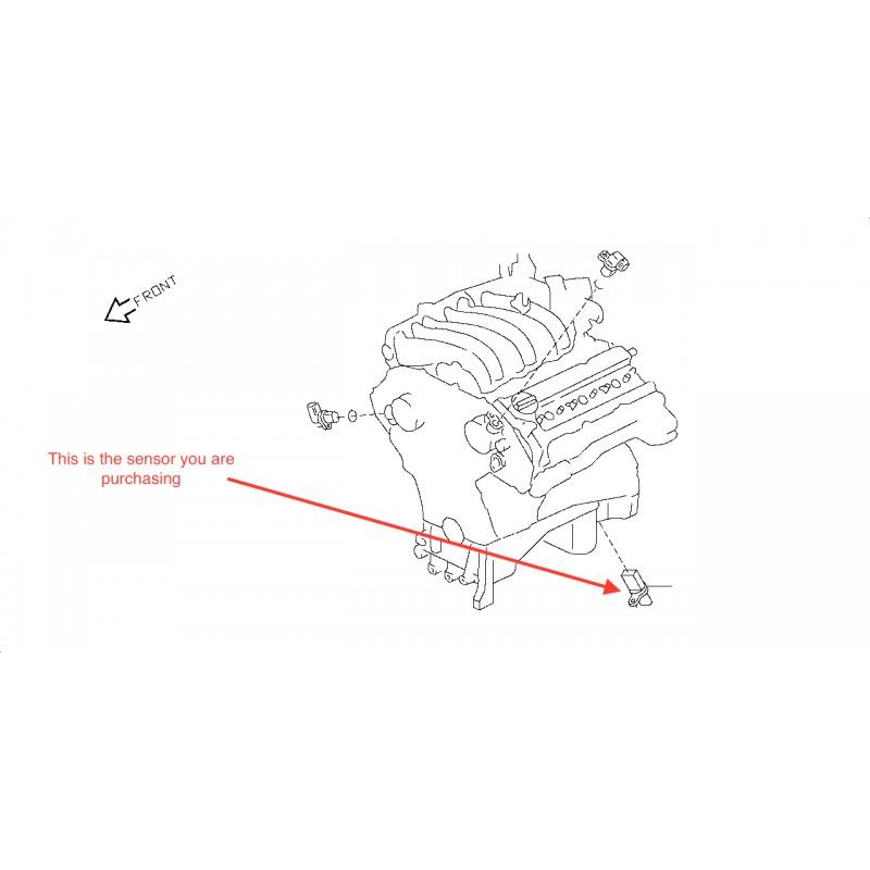 Nissan Micra 2003 Camshaft Position Sensor Location