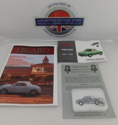 figaro workshop owners manual with presentation usb [ 1600 x 1200 Pixel ]