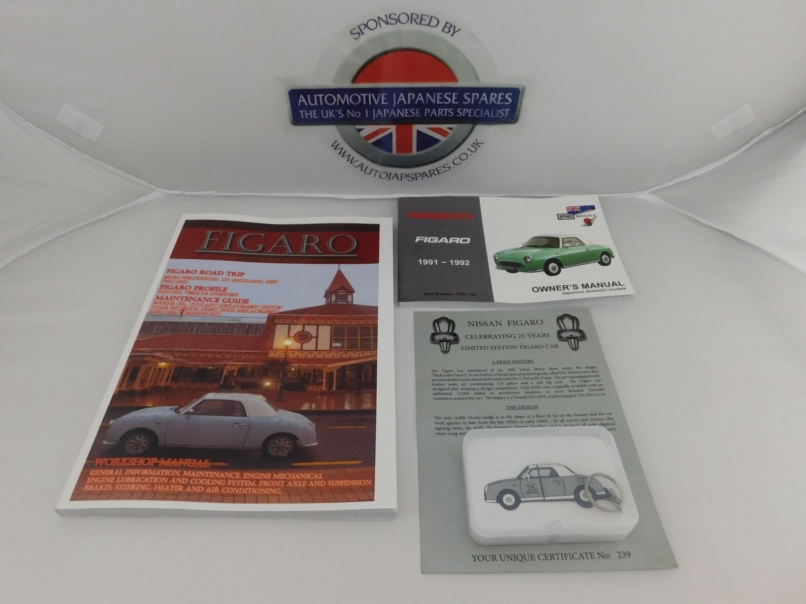 hight resolution of figaro workshop owners manual with presentation usb