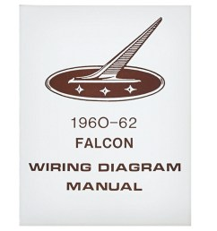 1960 62 falcon wiring diagram manual ford sedan station wagon routing schematics reprint softbound 4 pages  [ 1000 x 1000 Pixel ]