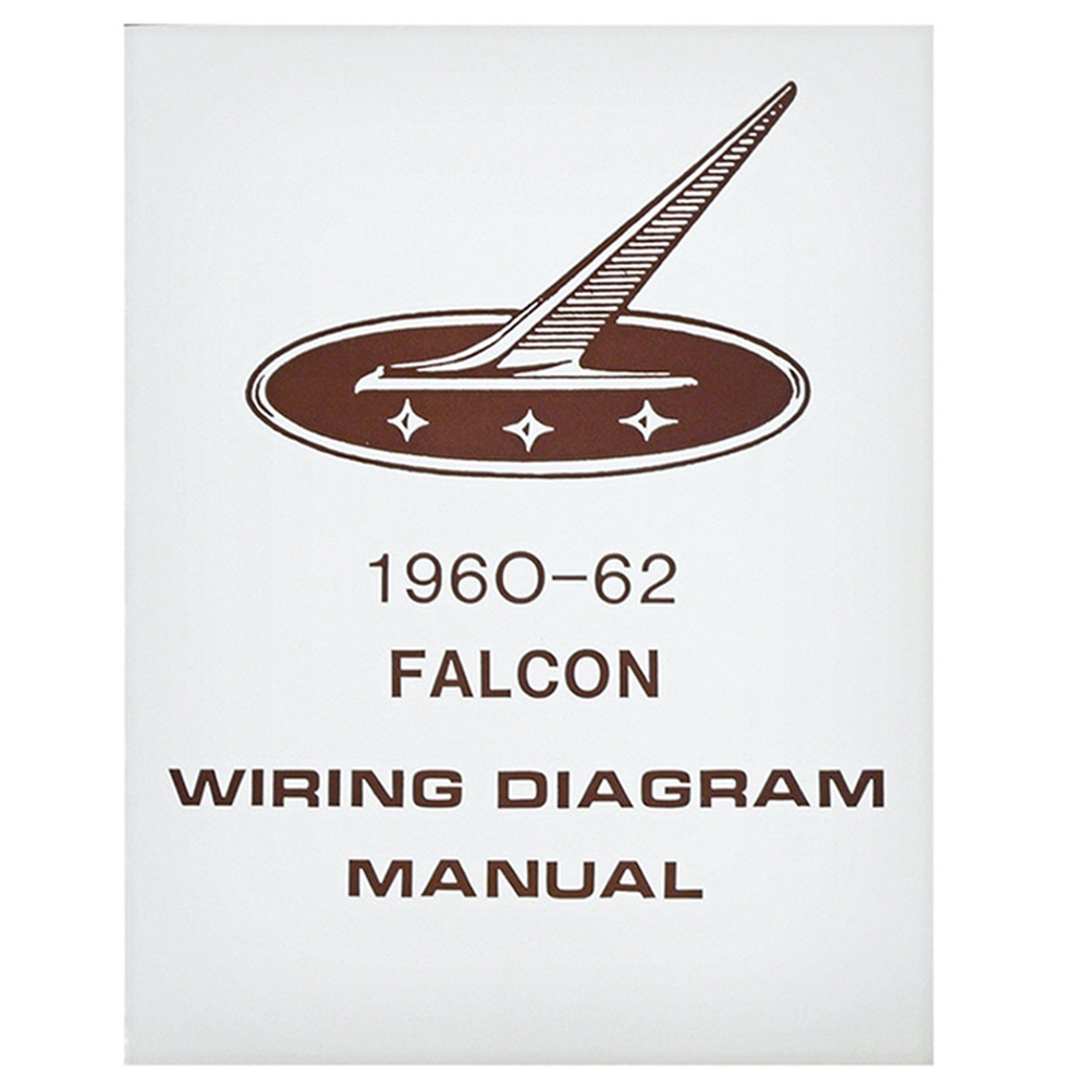 medium resolution of 1960 62 falcon wiring diagram manual ford sedan station wagon routing schematics reprint softbound 4 pages