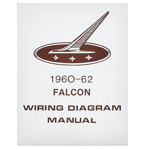small resolution of 1960 62 falcon wiring diagram manual ford sedan station wagon routing schematics reprint softbound 4 pages