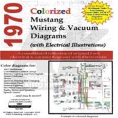 1966 Ford Mustang Alternator Wiring Diagram 2004 F150 Pcm For 1972 All Data Cd 70 Colorized Vacuum 1955 Turn Signal