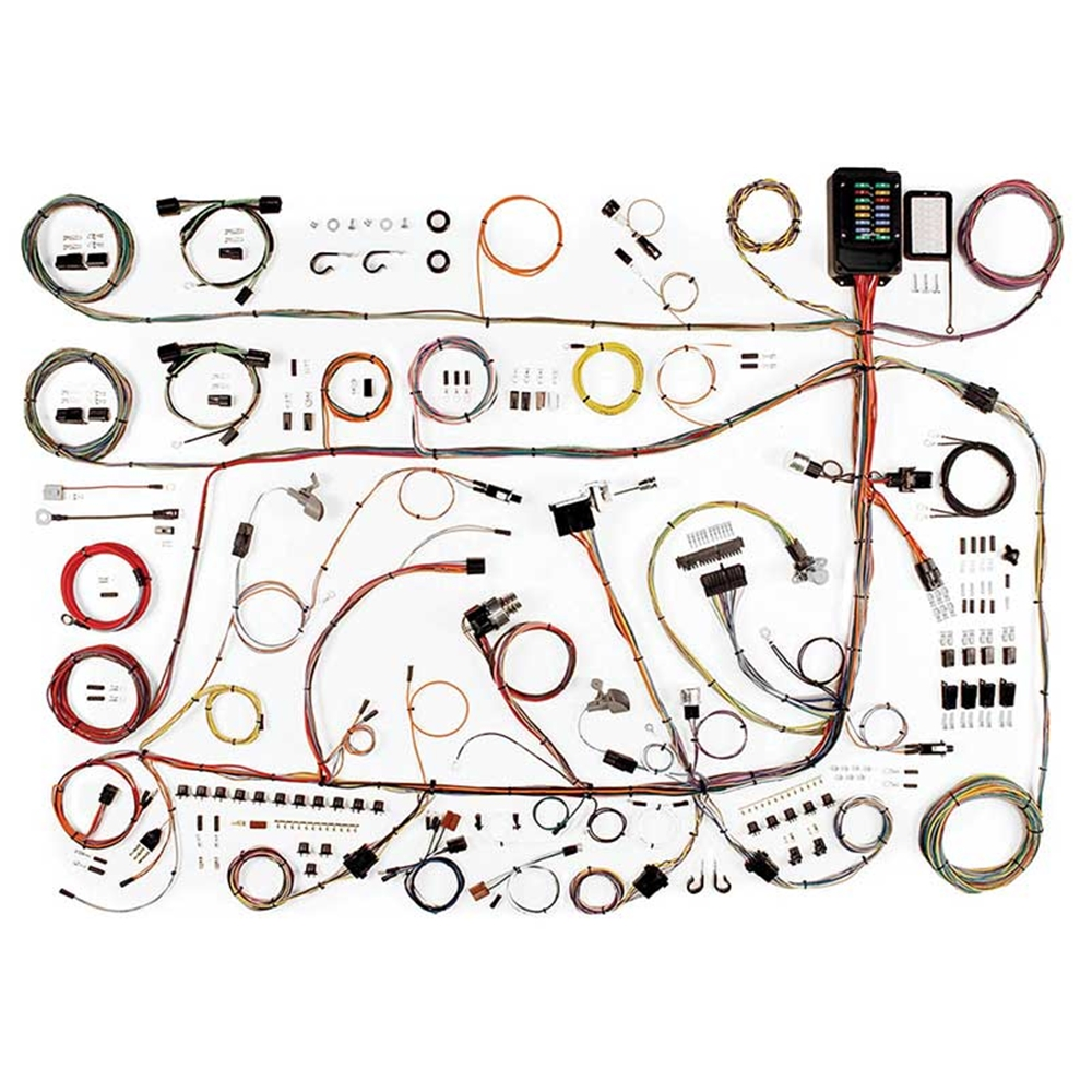 hight resolution of wiring harness update kit 1960 64 ford galaxie 1961 64 monterey country squire sedan ranch wagon