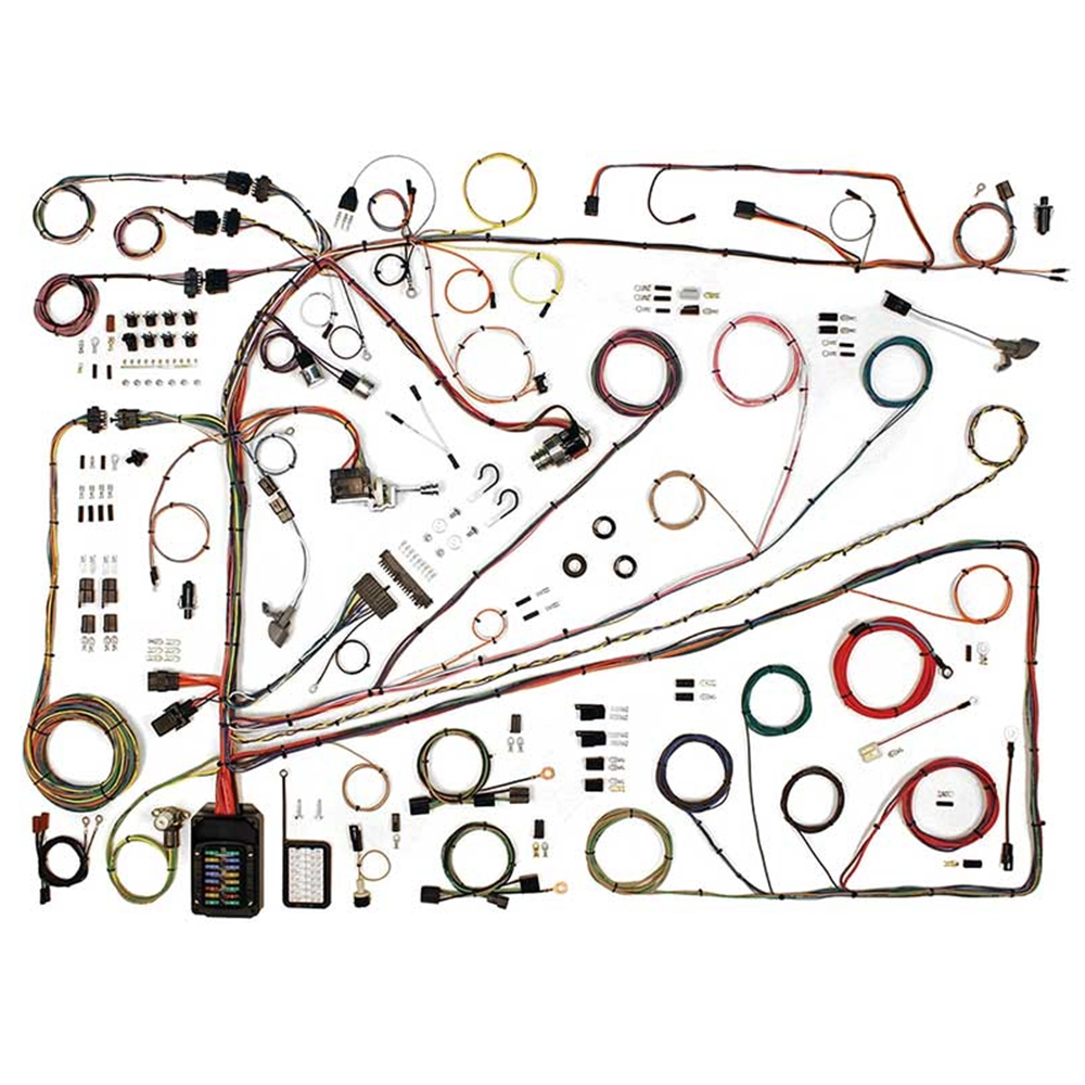 hight resolution of wiring harness update kit 1962 65 ford fairlane 500 xl 1962 63 meteor custom s 33