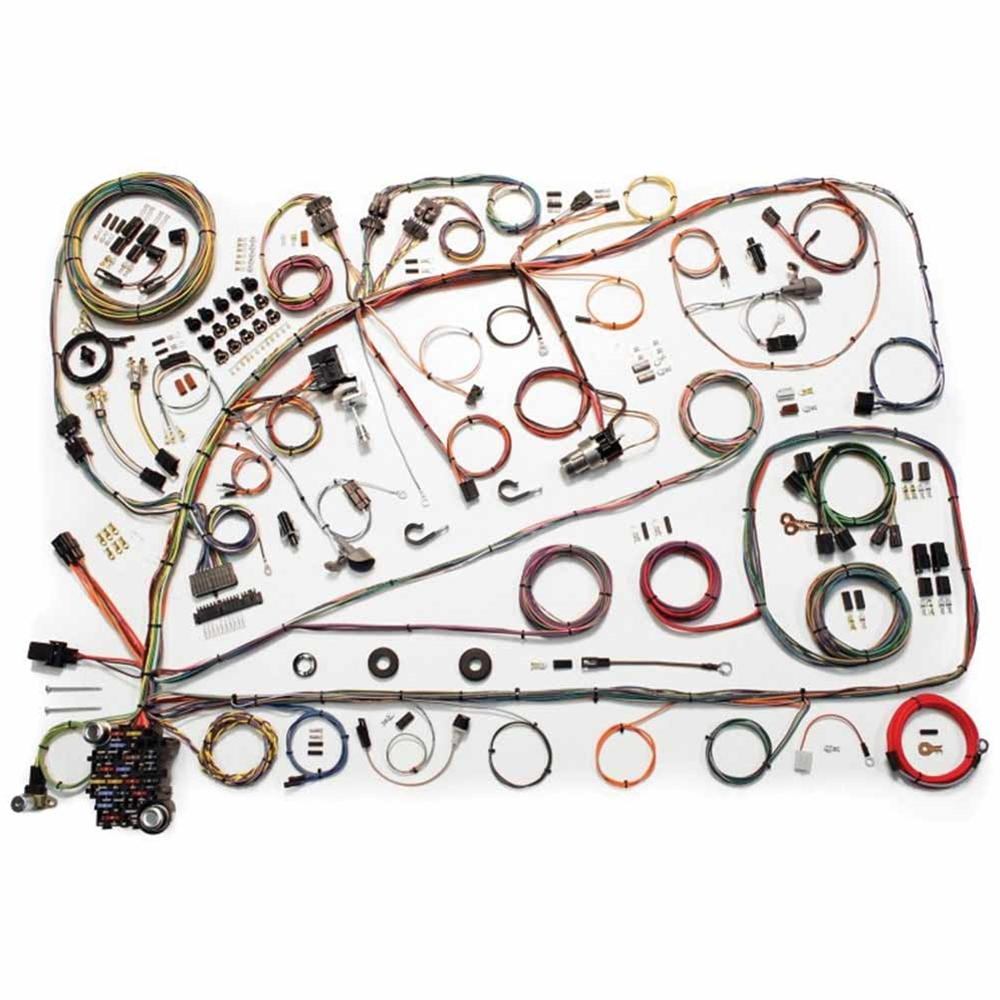 hight resolution of wiring harness update kit 1966 67 ford fairlane comet 500 xl electrical wires 510391