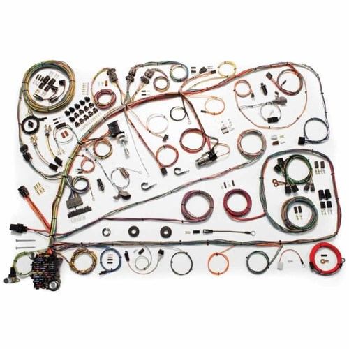 small resolution of wiring harness update kit 1966 67 ford fairlane comet 500 xl electrical wires 510391