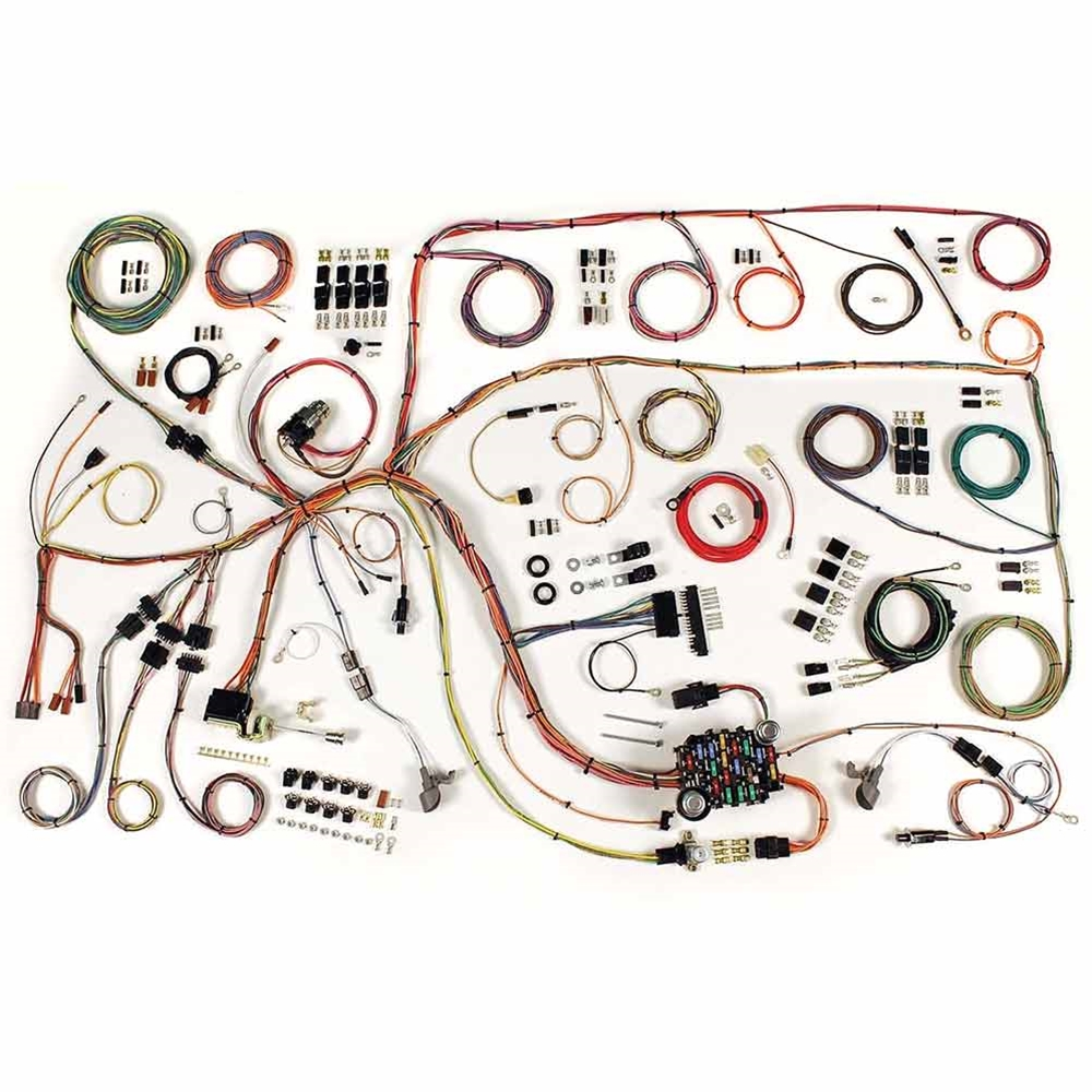medium resolution of 1963 ford falcon wiring harness update kit 1960 64 ford falcon 1960 65 comet futura sprint custom s 22 404 electrical wires 510379