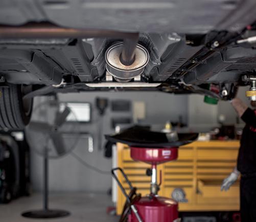 muffler exhaust repair in fenton