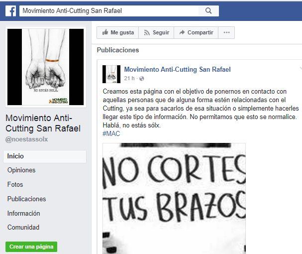 """Jovenes sanrafaelinos crearon un """"movimiento anti cutting"""" – Argentina"""