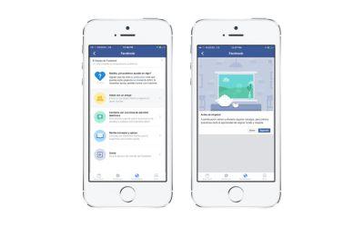 """""""Bienestar"""": el servicio de Facebook para ayudar a prevenir autolesión y suicidios"""