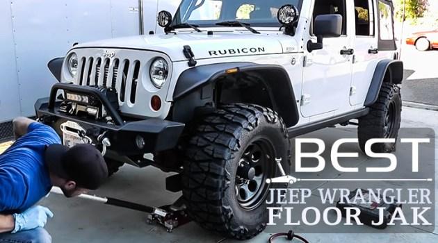 Floor Jack for Jeep Wrangler