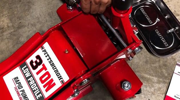 Pittsburgh Automotive Heavy Duty Ultra Low Profile Floor Jack