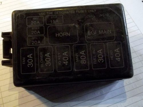 small resolution of fuse box lid cover mazda mx 5 mk2 under bonnet nc1066762 used
