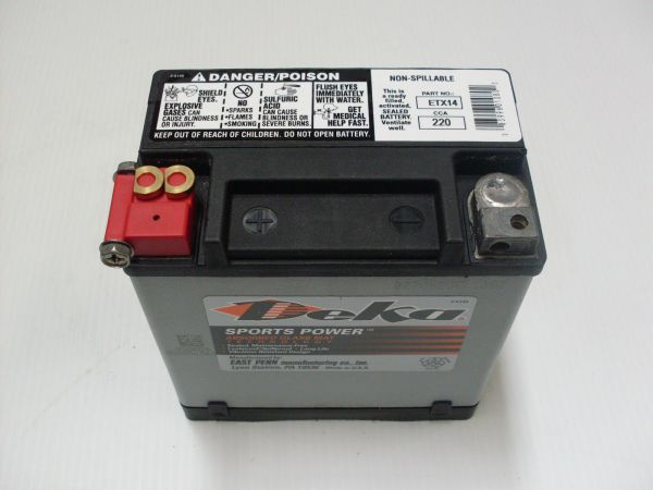 Motorcycle Batteries Bmw Buell Ducati Harley - MVlC