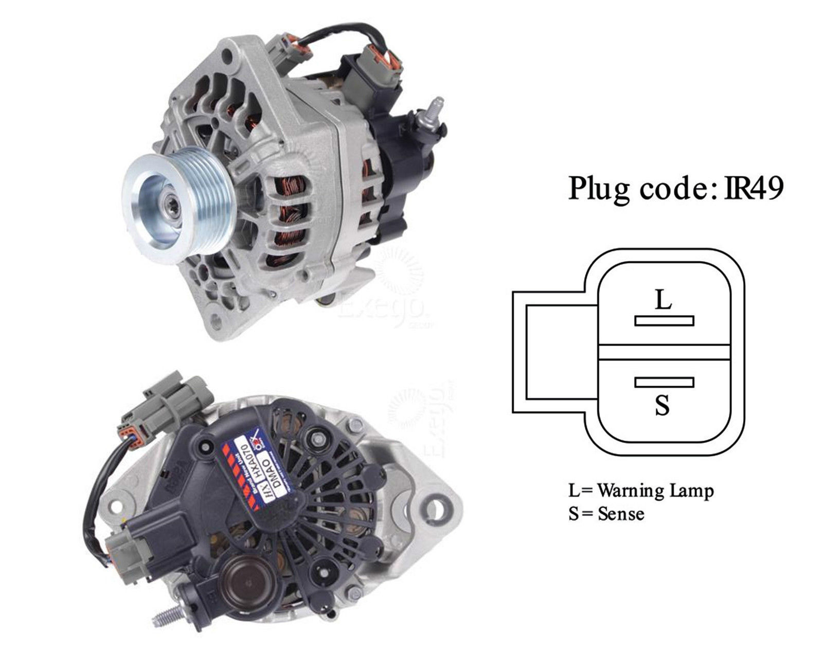 Alternator To Suit Nissan Navara D22 2 5lt 3 0lt 4cyl