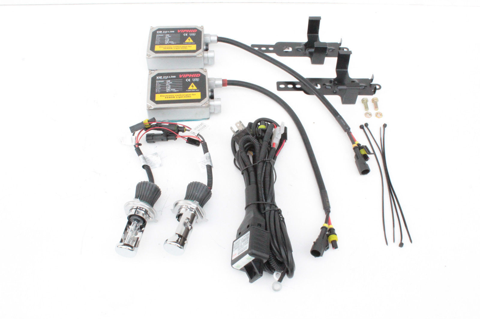 Hid Conversion Kit H4 24 Volt 35 Watt High Low With Slim