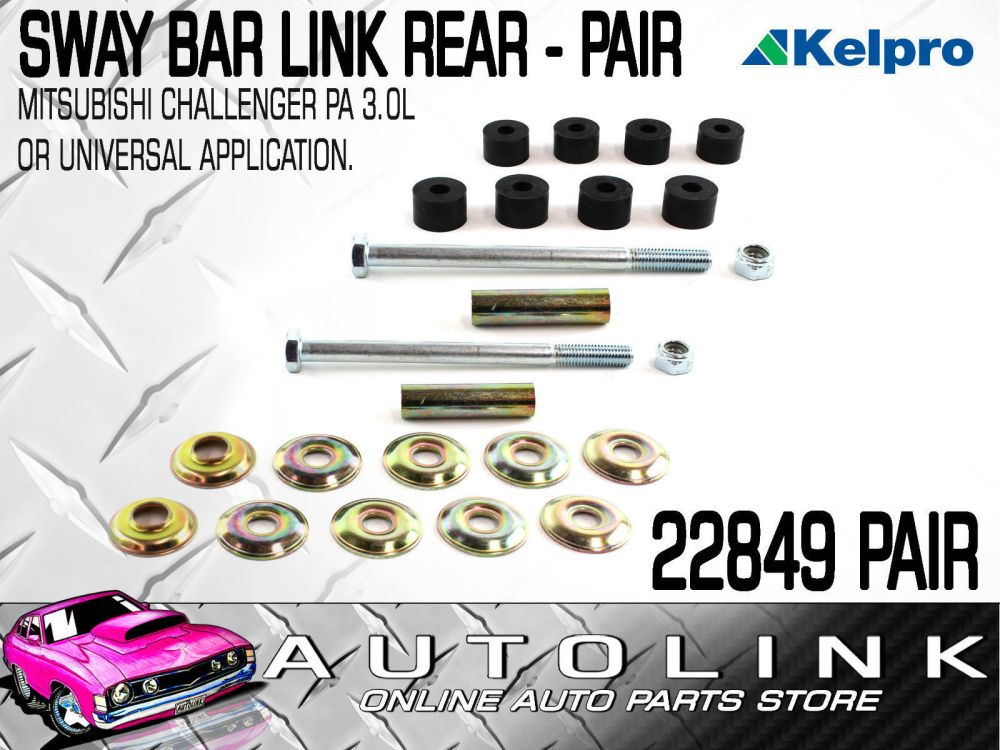 medium resolution of rear sway bar link pair suit mitsubishi challenger pa 3 0lt v6 or universal app