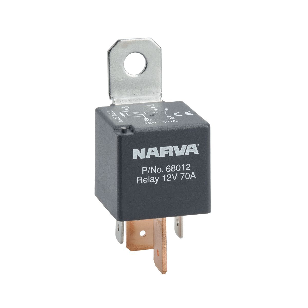 narva 12 volt relay wiring diagram fender super switch normally open 4 pin 70 amp resistor