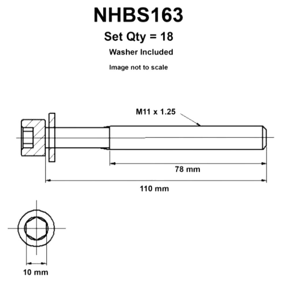 medium resolution of head bolt set suit nissan navara d22 2 5l 4cyl t diesel yd25ddti 1 2007 12 2015 nason